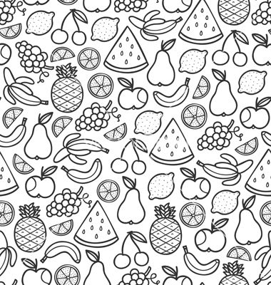 17 Best images about Food & Dishes to Color on Pinterest