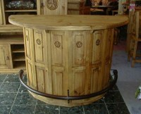 Future mancave bar what to do with old cable spools | wire ...