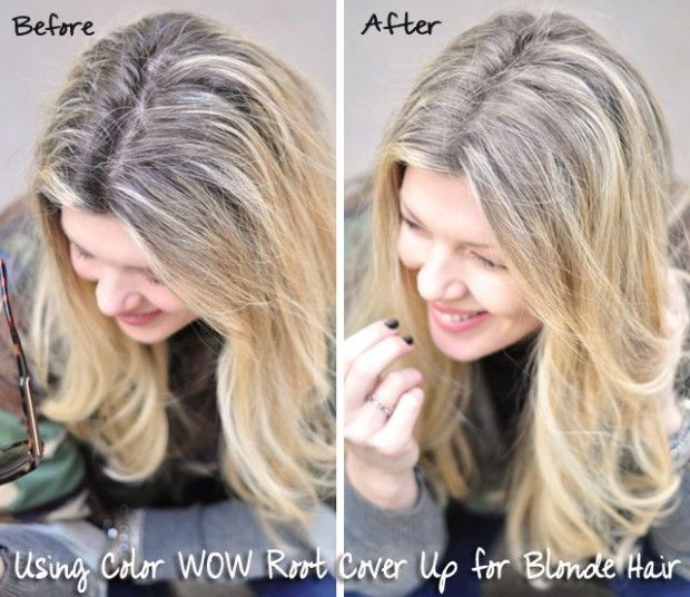Color Wow Root Cover Up Before And After WOW News