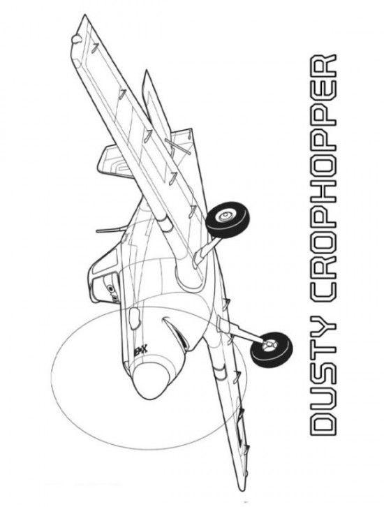 Dusty Cropchopper Coloring Sheets of Planes 2 Fire en