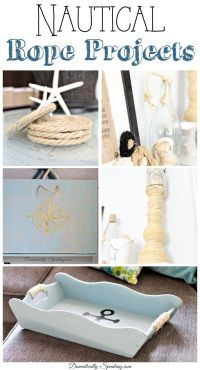 25+ best ideas about Nautical Rope on Pinterest | Rope ...