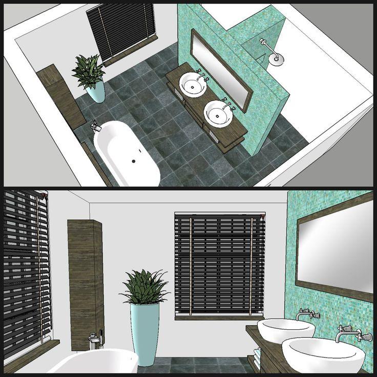 Meer dan 1000 ideen over Zolder Badkamer op Pinterest  Kleine zolderbadkamer Kleine zolders