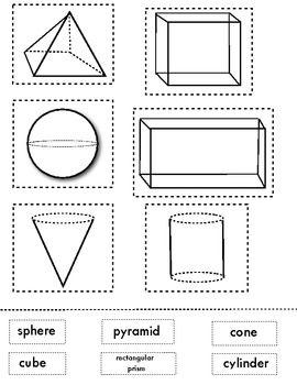 153 best Pre Primary 2D/ 3D shapes images on Pinterest
