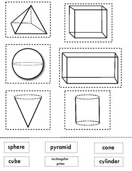 1000+ images about Pre Primary 2D/ 3D shapes on Pinterest