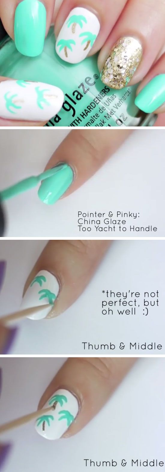 438 best images about Spring and Summer Nails on Pinterest