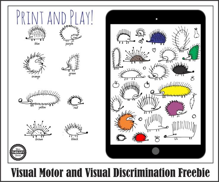 261 best images about Visual Discrimination on Pinterest