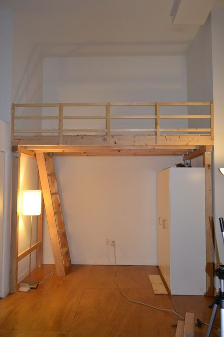 How To Build A Bunk Bed Ladder