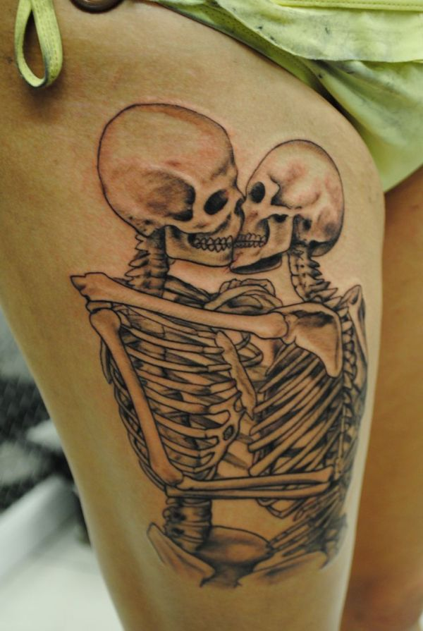 ideas skeleton couple