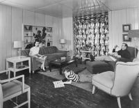 9 best images about 50s living room on Pinterest | Bold ...