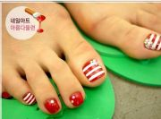 white toes ideas
