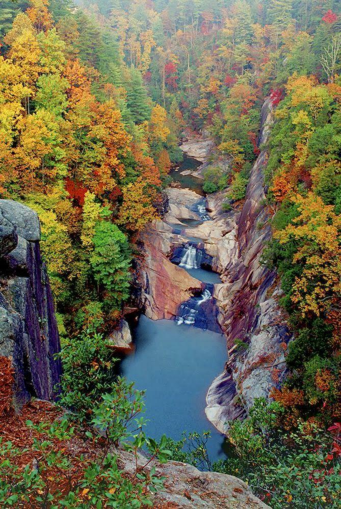 Tallulah Falls – Tallulah Gorge State Park, Georgia, usa