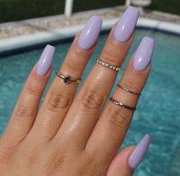 Best Lilac Nails ideas on Pinterest
