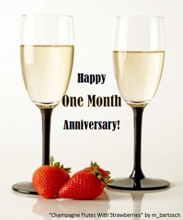 25 best Happy One Month Anniversary ideas on Pinterest