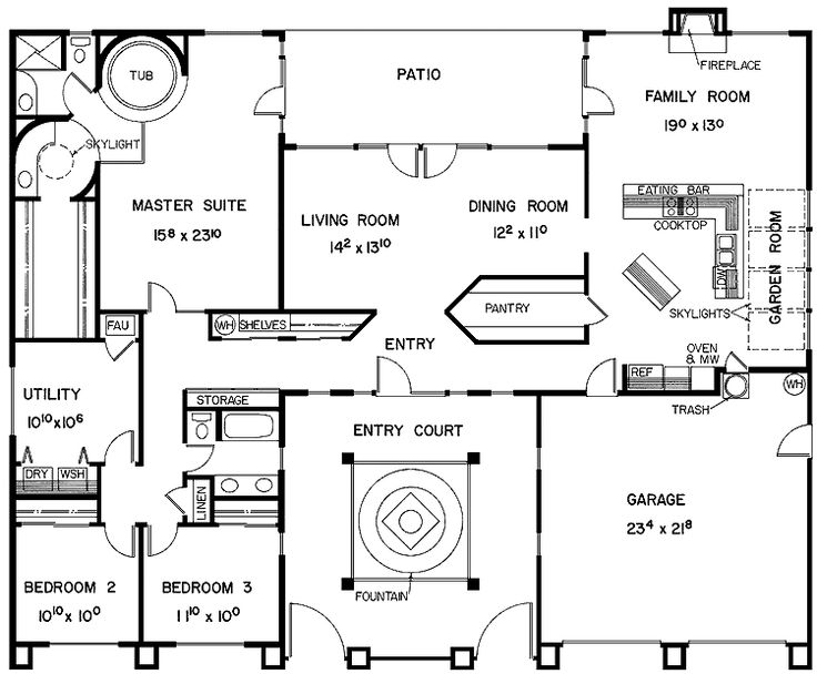 81 best images about U shape floor plan ideas on Pinterest
