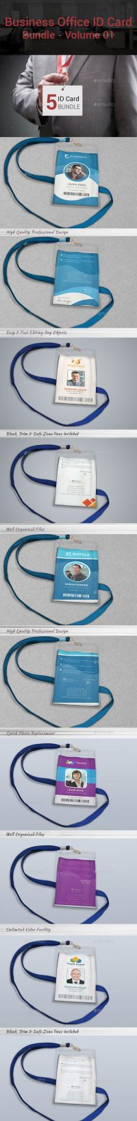 10 Best images about ID Card Design / Lanyard Name Tag ...