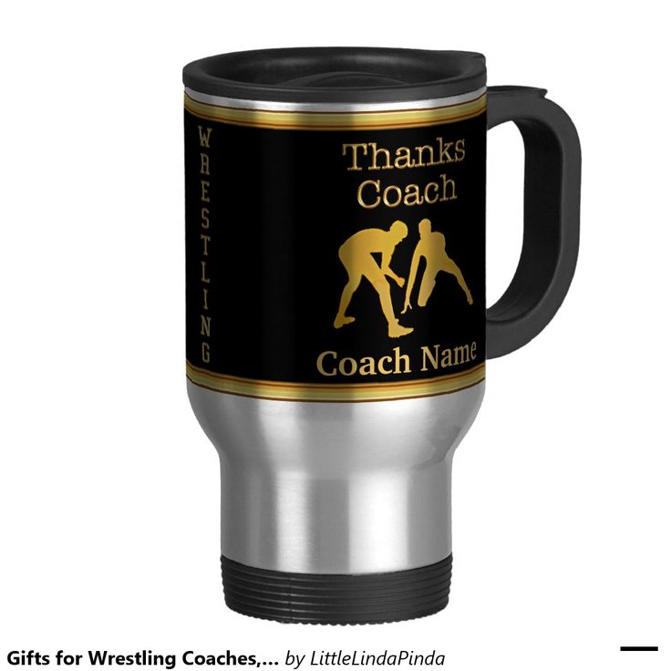 Coach mug personalized wrestling coach gifts with your
