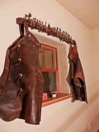 spurs and chaps make a fun window treatment | Home Decor ...