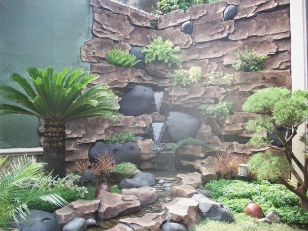 Kolam Relief Tebing Cadas Buatan Mulya Asri Taman Hp0813