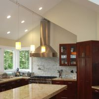 Vaulted Ceiling Kitchen Design Ideas, Pictures, Remodel ...