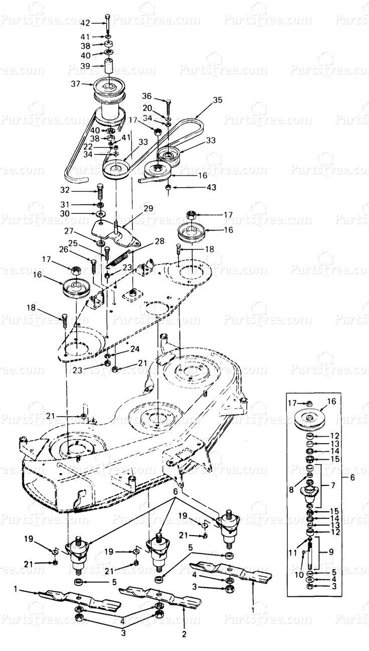 cub cadet parts diagram