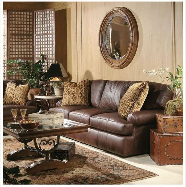 elegant leather living room furniture living rooms with leather sofas |  Living : Elegant