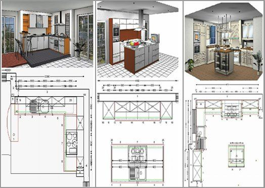 Design Your Own Kitchen Layout Free Online