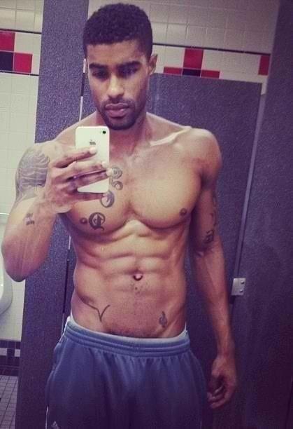 Black Men Selfies  Hes cute  Aaron  Pinterest