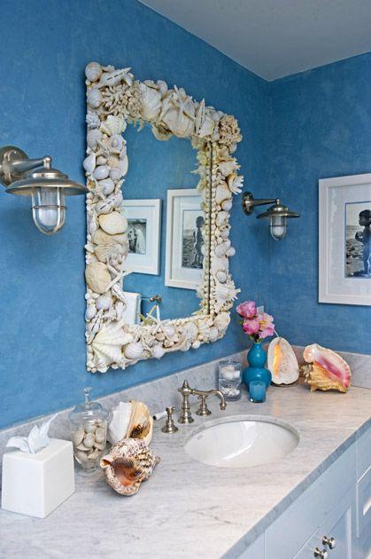 Best 25 Sea shell mirrors ideas on Pinterest  Seashell