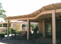 Extended patio cover   Landscaping ideas   Pinterest ...