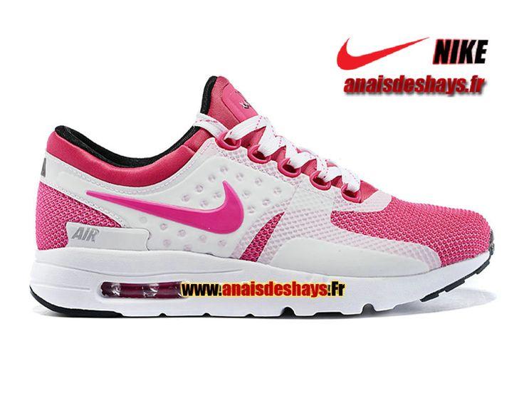 boutique officiel nike wmns air max zero gs taille femme fille rose