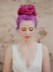 pink & purple bun. loving
