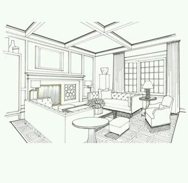 1189 best images about INTERIOR PERSPECTIVE DRAWINGS on Pinterest  Sketching Perspective and