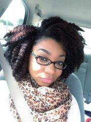 cute in #braidout #naturalhairstyle