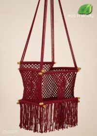 ECO Friendly Macrame Baby Swing Chair (for Infant to Child ...