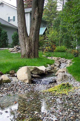 The 25 Best Ideas About Garden Stream On Pinterest Backyard