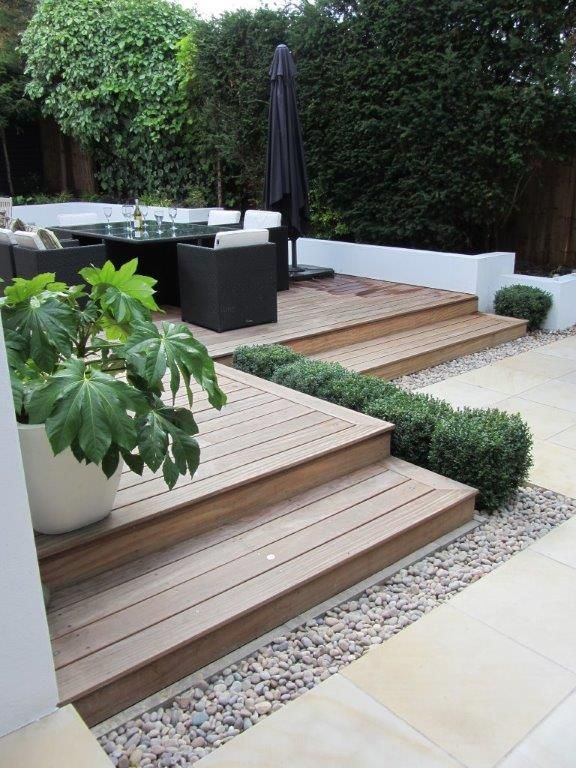 The 25 Best Ideas About Small Backyard Decks On Pinterest Small