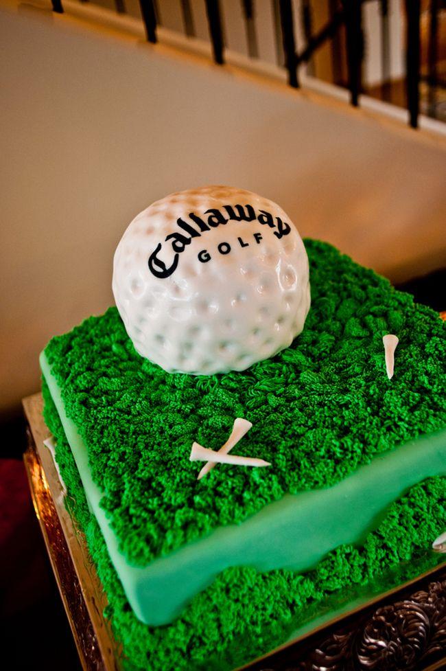 25 best ideas about Golf grooms cake on Pinterest  Golf