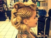 edgy updo ideas