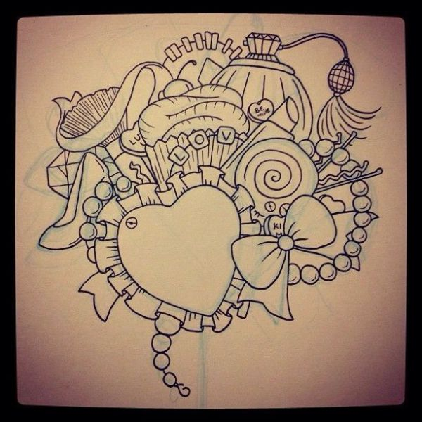 1000 ideas about Girl Stomach Tattoos on Pinterest