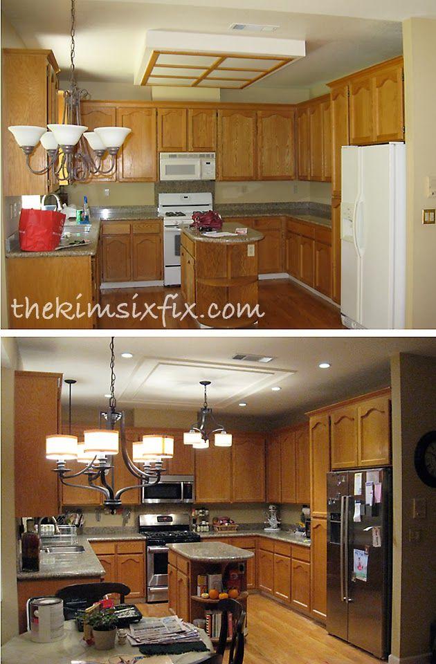 1000 ideas about Fluorescent Kitchen Lights on Pinterest