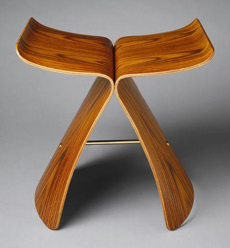 "Sori Yanagi: ""Butterfly"" stool 1956"