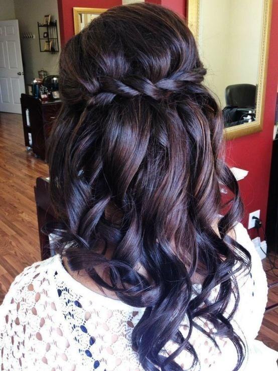 25 Best Ideas About Waterfall Braid Curls On Pinterest