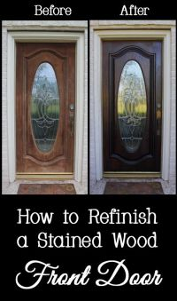25+ Best Ideas about Stained Front Door on Pinterest ...