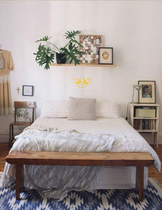 Nice bedroom.: