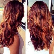 1000 ideas red brown highlights