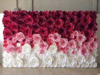 25+ best ideas about Paper Flower Backdrop on Pinterest ...