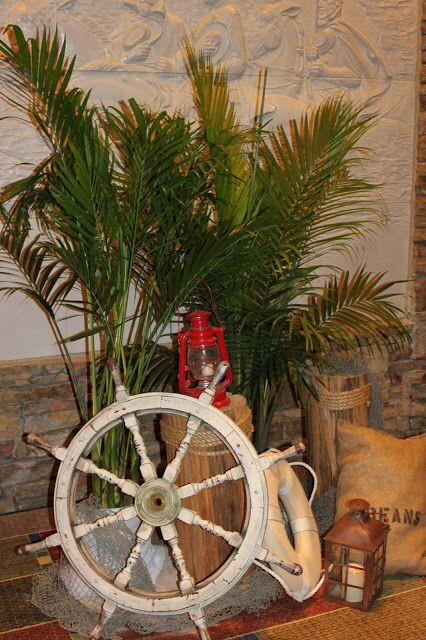 Gilligans Island decor  Ladies Event  Pinterest  Radios Cream pies and Wedding