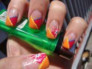 crazy acrylic nails ideas