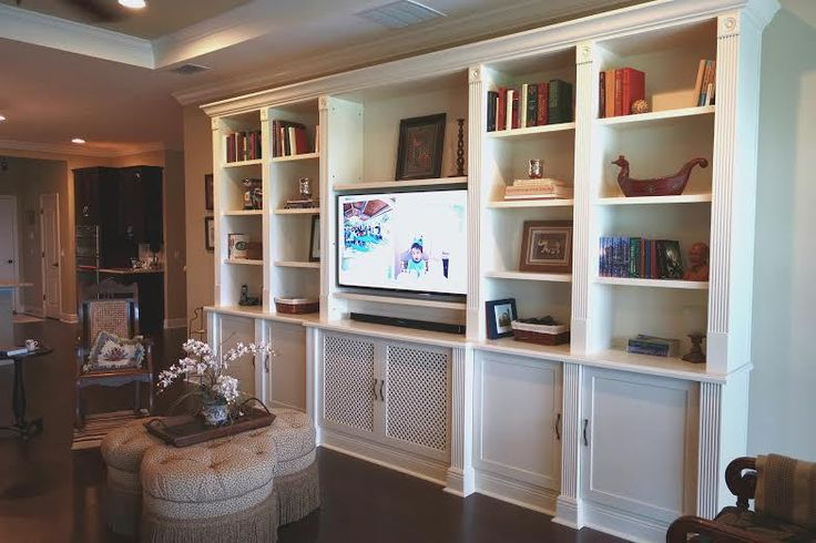 Bookcase Cabinet With Fluted Moulding Google Search