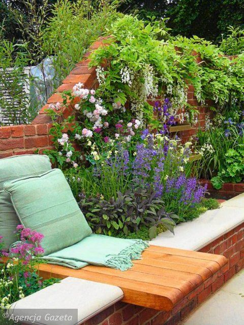best 20 brick wall gardens ideas on pinterest